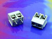 Stk.2 x KLEMMLEISTE / TERMINAL BLOCK 2polig / way 16A Platine PCB #A605