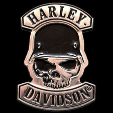 HARLEY DAVIDSON SKULL WITH HELMET  PIN