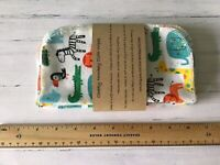30 Cheeky Monkey Flannel Cotton Baby Wipes Family Cloth Hankies Washable 19cm