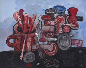 Philip Guston Poised Canvas Print 16 x 20   #3963