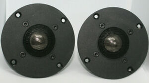 "MB Quart 1"" Titanium Dome Tweeters One PAIR! 6 Ohm NEW Made in Germany READ!!"