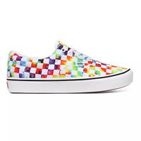 Vans ComfyCush Era Tie Dye Checker White Sneakers Low-Top Shoes 11.5 M / 10.5 UK