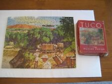 """VINTAGE TUCO DELUXE PUZZLE """"SKYWAYS TO THE BATTLE FRONTS""""  300- 500 PCS."""