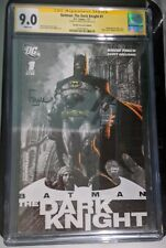 Batman The Dark Knight 2011 #1 Cgc 9.0 Ss Finch Retailer Incentive Promo - Rare!