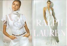 ▬► PUBLICITE ADVERTISING AD Ralph Lauren dépliant 4 pages 2005