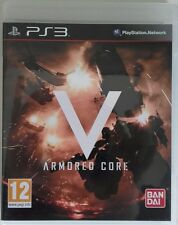 Armored Core V. Ps3. Fisico. Pal Es