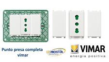 VIMAR PLANA 14203 14041 14613 stok vimar plana offerta  presa vimar completa
