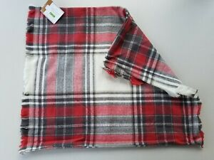 """Pottery Barn Hamilton Plaid Red Pillow Cover 20"""" #3509"""
