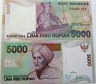 """BILLETE """" INDONESIA """" 5000 RUPIAS AÑO 2009 UNC PLANCHA"""