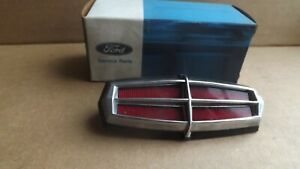 NOS Ford 1972,73,74,75,75,76 Lincoln Mark IV, V Trunk Lock Cover D2LY-6543600-A