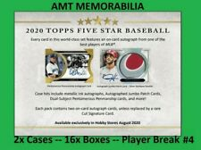 Frank Thomas White Sox 2020 Topps Five Star 2X CASE 16X BOX BREAK #4