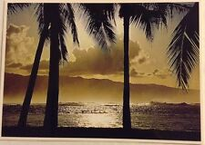 John Wagner Collection Outrigger War Canoe Oahu North shore Impact Photo 1977