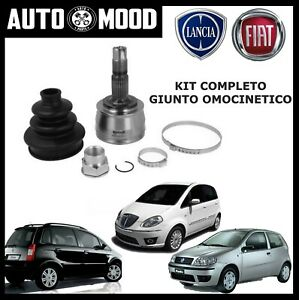 KIT COMPLETO GIUNTO OMOCINETICO FIAT PUNTO 188 IDEA  MUSA YPSILON Y 1.2 1.4 16V