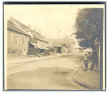 France, Lion sur Mer, Station de Decauville  Vintage silver print Tirage arg