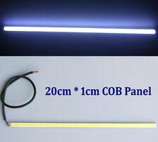 Ultra-thin 5W COB 60 LED Car DRL Daytime Running Light Lamp Bar Strip 20cm * 1cm
