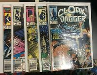 Cloak And Dagger (1985) # 2,3,4,5,6 (VF/NM) Canadian Price Variant (CPV)  !