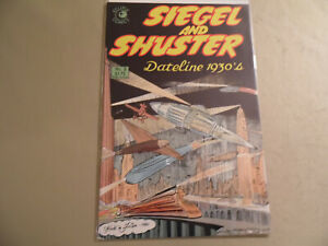Siegel and Shuster Dateline 1930's #2 (Eclipse 1985) Free Domestic Shipping
