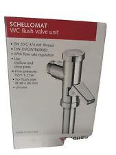 Schellomat Druckspüler 022010621 Schell chrom 3/4 - 214001)