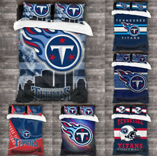 Tennessee Titans Design Bedding Set 3PCS Duvet Cover Pillowcases Comforter Cover
