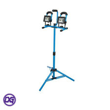 LED Tripod Site Light with 2 x 10W LED lights and Aluminium Casing