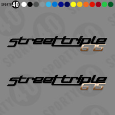 TRIUMPH Street Triple 675 R RX  - Vinyl Decal / Sticker - 2711-0319