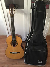 Aranjuez Luthier A-110 FM Konzertgitarre + Tasche + Zubehör TOP Zustand