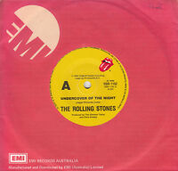 THE ROLLING STONES Undercover Of The Night / All The Way Down 45