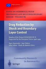 Drag Reduction by Shock and Boundary Layer Control: Results of the Project EUROS