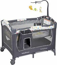 Baby Trend Nursery Center Playard Pack and Play Neutral Sleeper Bassinet Crib  00004000