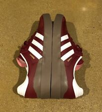 Adidas Busenitz Vulc RX Size 8 US Samba  Burgundy White Gum Skate Shoes Sneakers