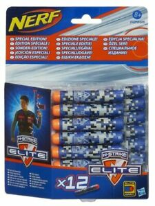New 12 x Nerf Special Edition N-Strike Blaster Darts Refill Pack by Hasbro