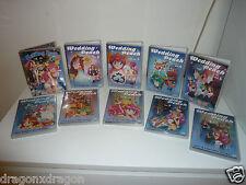 Wedding Peach Anime DVDs Volume 2-10 & Wedding Peach DX Vol.1, sehr gepflegt