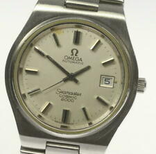 OMEGA SEAMASTER COSMIC 2000 AUTOMATIC WATCH, MEN´S, DATE, ST-ST, SILVER DIAL
