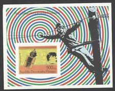 Malagasy #1050 Space Program 1992 proof card