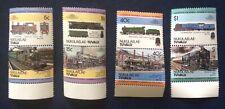 Nukulaelae-Tuvalu - Railway Locomotives (1st Series) 1984 - MNH