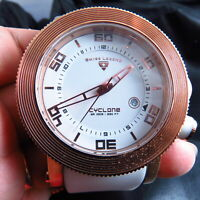 NEW SWISS MOVEMENT SWISS LEGEND CYCLONE  100M QUARTZ MEN WATCH