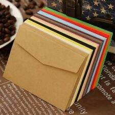100 Mini Easyclose Neon Brights Colored Greeting Card Organiser Paper Envelopes