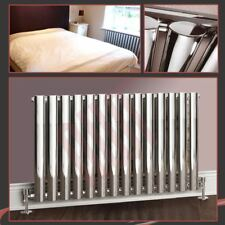 "960mm(w) x 500mm(h) ""Brecon"" Chrome Oval Tube Horizontal Radiator - 2687 BTUs"