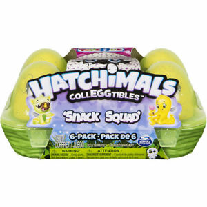 *Hatchimals* CollEGGtibles SNACK SQUAD 6 PACK- SISTER to ROSE GOLD 6 PACK