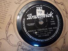 VINTAGE 78 rpm RECORD - BILL HALEY - ROCKIN' THROUGH THE RYE - SILLY CHEAP!