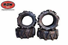 4x Kanga Lug Tyre 19x8-10 6 ply