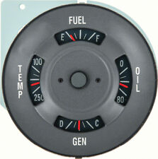1968 Firebird Dash 4 Gauge Cluster