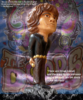 """JIM MORRISON Heavy Chalkware STATUE by MARKO - Edition of only 50 - RARE! 17"""""""