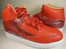Nike Air Python LUX SP University Red White Snakeskin Rare DSM SZ 7 (632631-601)