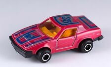 Majorette #202 Triumph TR7 Red With Yellow Interior Near Mint France