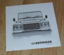 Land Rover Defender X-Tech Brochure 2003