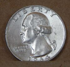 1964 U 'S QUARTER DOLLAR 25 CENT, Coin 4 Div 1