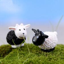 Мини 8 шт. коза миниатюрный сад газон украшение украшение фигурка сделай сам бонсай