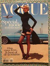VOGUE PARIS Août 2011 Lara Stone Natasha Poly Spécial Mode 64 Looks Stars