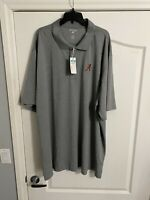 NWT Antigua Golf 4XLT NCAA Alabama Crimson Tide Golf Shirt
